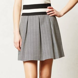 Anthropologie Maeve L Ballad Swing Skirt